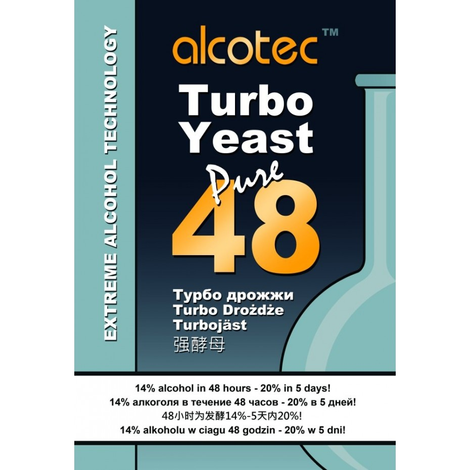 Alcotec 48hr Turbo Yeast