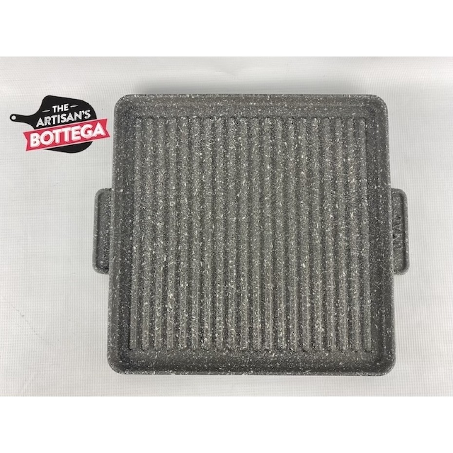 BBQ Hot Plate 30cm x 30cm Cast Iron to suit DRAGO and MAMUTH - OMAC