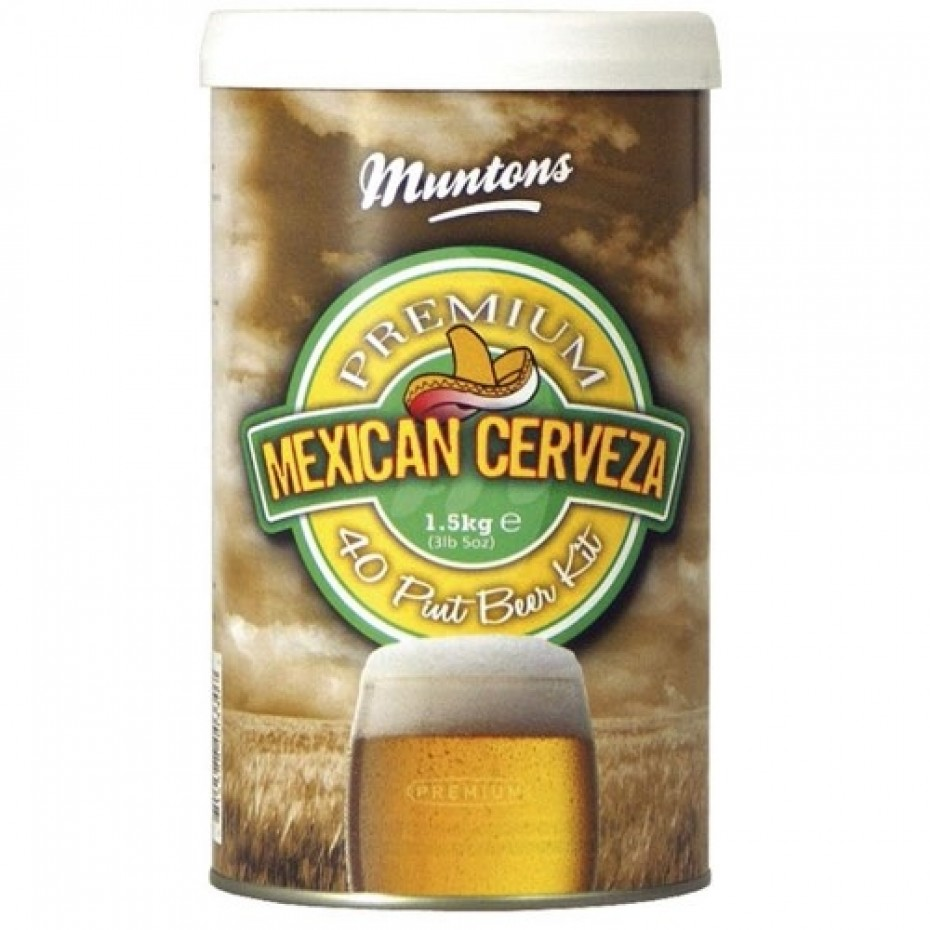 Muntons- Mexican Cerveza Lager 1.5 Kg Extract Kit