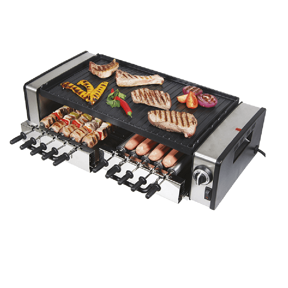 Electric Bench BBQ- Under Grill and Hot Plate 30cm x 35cm - RGV