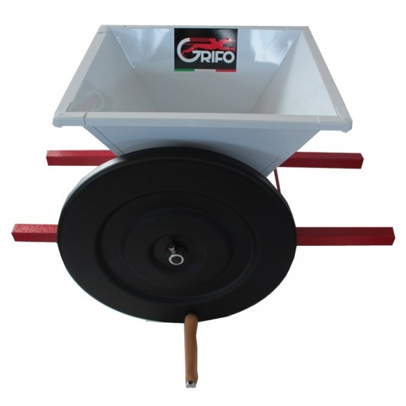 Crusher for Grapes BE Painted Manual 2 gear- Baby hopper 45 x 55cm