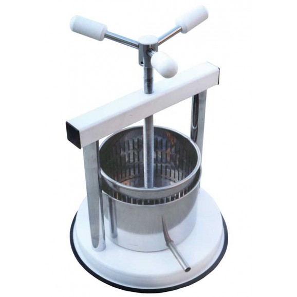 Spremi Fruit and Cheese Press S/Steel Red Frame - Premium