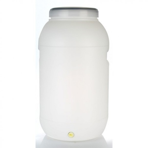Beer Brewing Plastic fermenter drum 60Lt with Clear Screw Lid