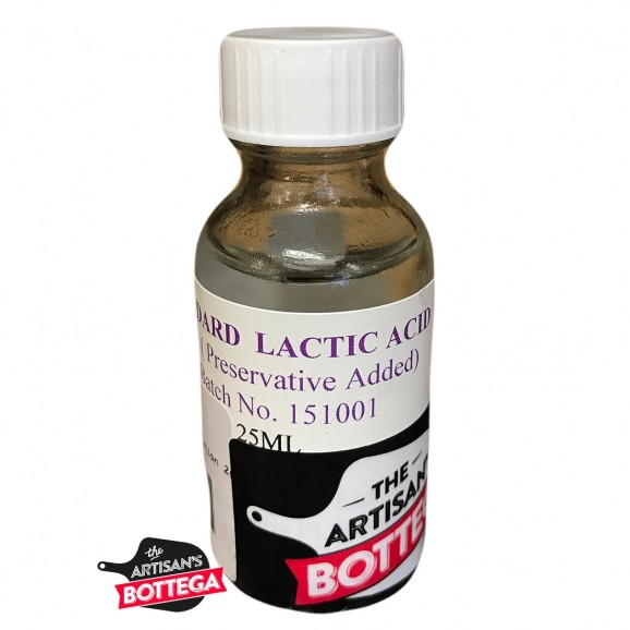 TLC Lactic Acid ref. Solution 2g / lt - 25ml