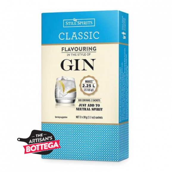 Distinctive gin style flavour