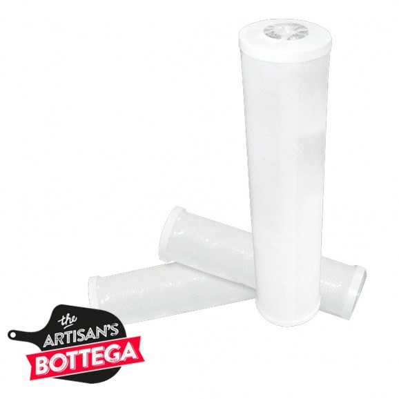 Filter cartridge 10 Inch RONA DOE pleated membrane 0.45 micron to suit white PG housing