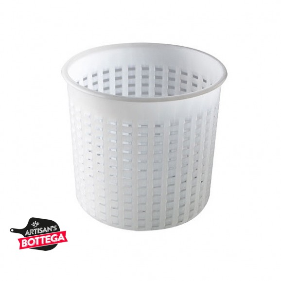 Cheese Mold Strainer 18.5 to 16 cm x HT 16 for 2kg of Cheese
