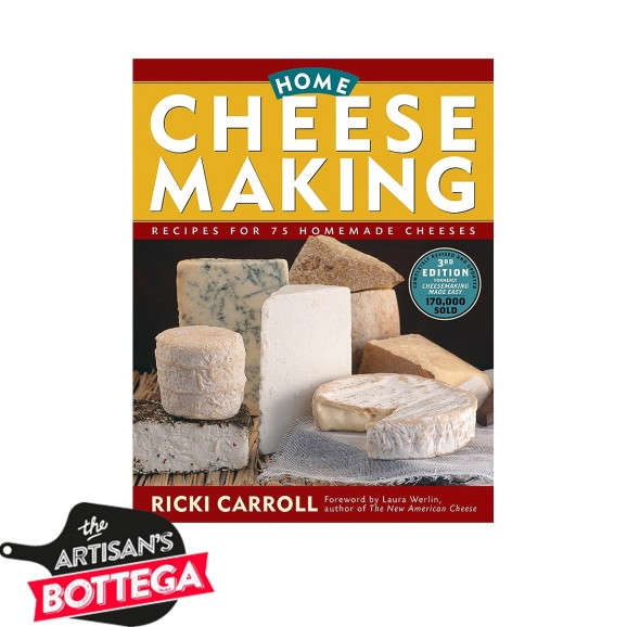 Book- Home Cheese Making - By Ricki Carroll