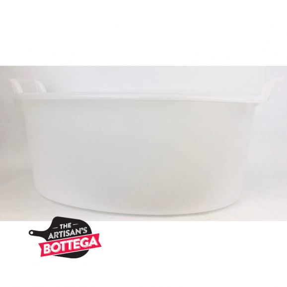 Oval tub with handle