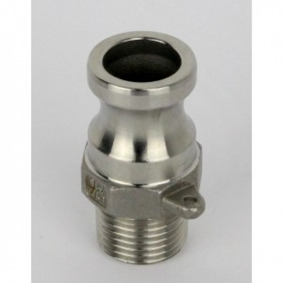 S/S Camlock Male Fitting with 1/2inch- 12.5mm BSP Male Thread ( Type-F 7667 ) KK