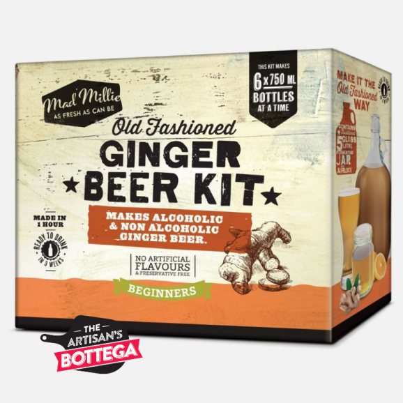 Make ginger beer the old fashioned way