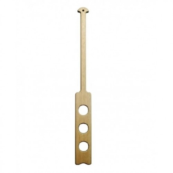 Pot Mixing Brew Paddle 90cm - 40cm x 8cm Flat Face - Bored