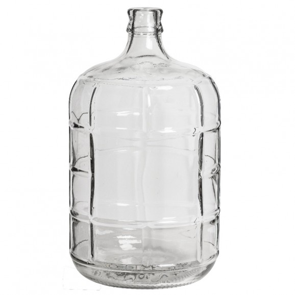 Glass carboy 11 lt Fermenter