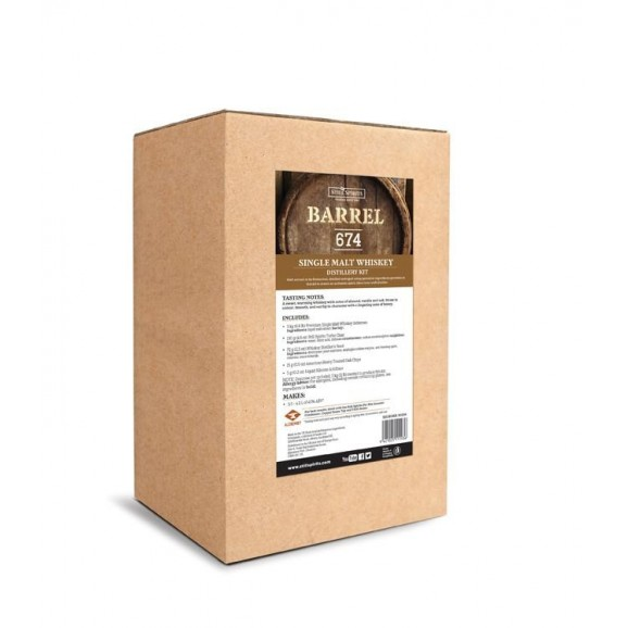 Still Sprits Essence - Barrel 674 Single Malt Whiskey Distillery kit