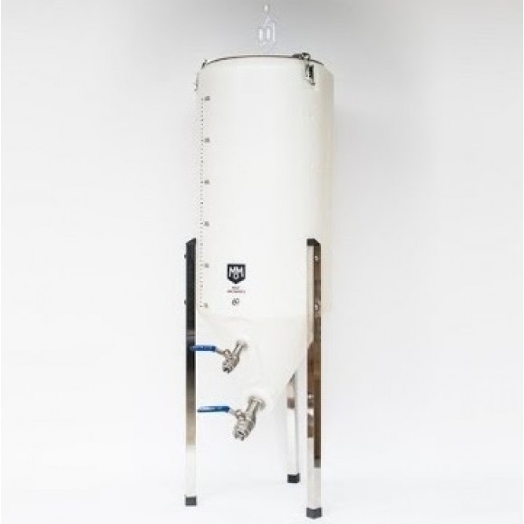 Tank 60 Lt Plastic Conical Fermenter with Fittings