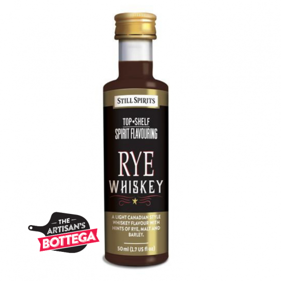 With hints of rye, malt and barley