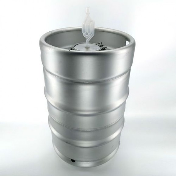 58Lt Stainless Steel Drum with 4 inch Fermenting Lid