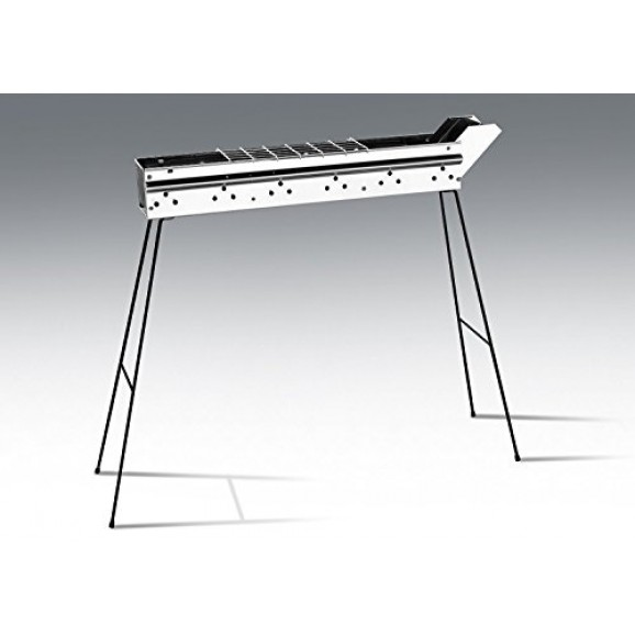 Charcoal BBQ S/S 800mm for Arrosticini / Spiedini