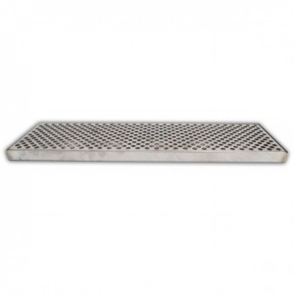 Beer Pouring Drip Tray - 60cm x 20cm Counter Top - S/S 2pc