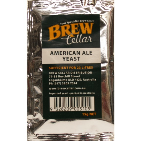 Brew Cellar Premium Yeasts American Ale Yeast 15g