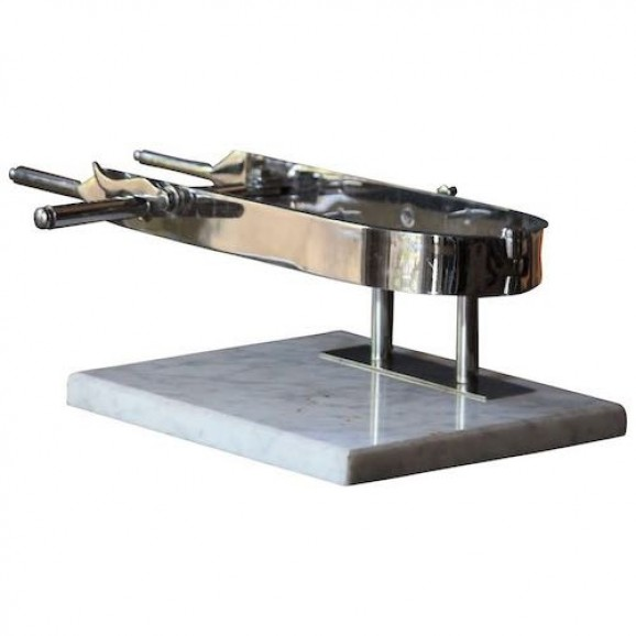 Prosciutto Carving Holder on Marmol Base