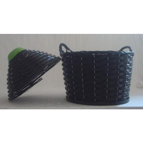 Demijohn Weaved Heavy Basket Spare Narrow Neck with Tap - 2pcs