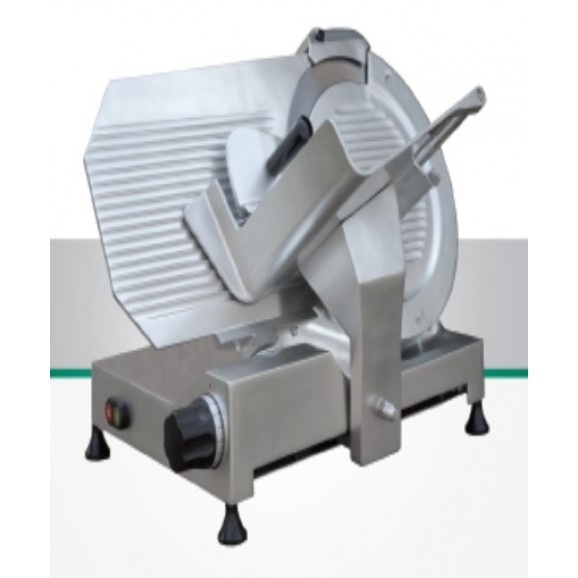 Essedue 350mm Electric Slicer with Variable Speed and Blade Sharpener