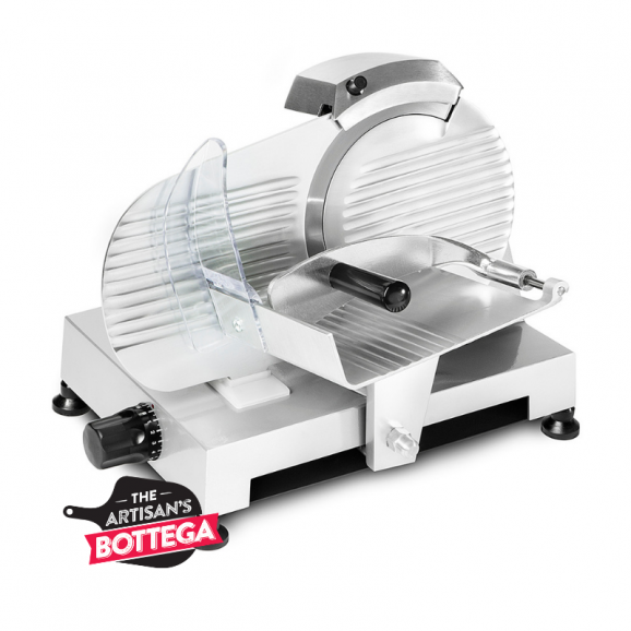 Essedue 220mm Electric Slicer in Silver AFP - Italy