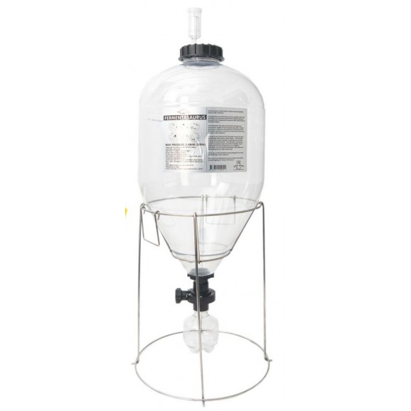 Fermentasaurus  Conical Fermenter With Stand