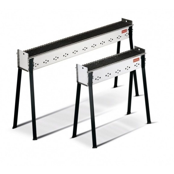 Ferraboli Stainless Steel Charcoal BBQ for Arrosticini