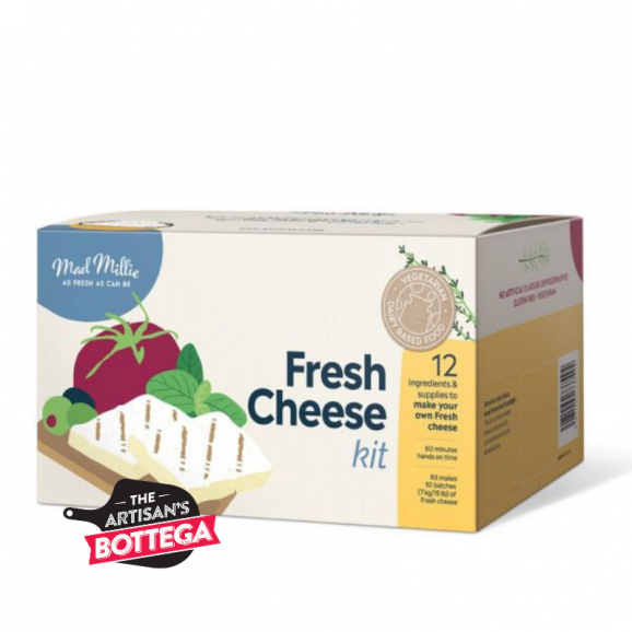 Make delicious fresh cheese in your own kitchen!