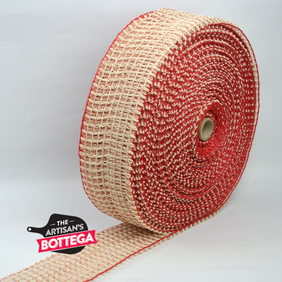 Heavy Duty Italian Red Netting With Double Strand