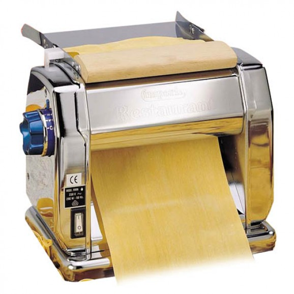 Imperia Pasta Machine Manual Restaurant Commercial 22cm Rollers for Pastry Sheet
