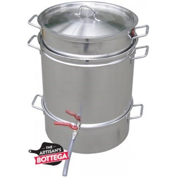 Steam Juicer Stainless Steel For Stone Fruits