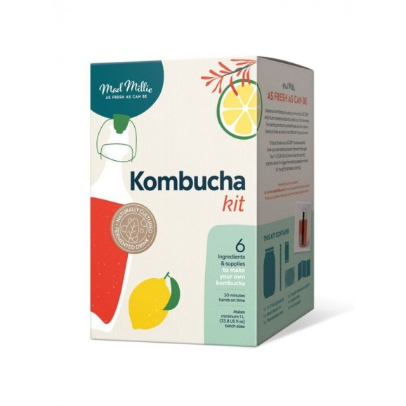 Kombucha Making Kit by Mad Millie 1L
