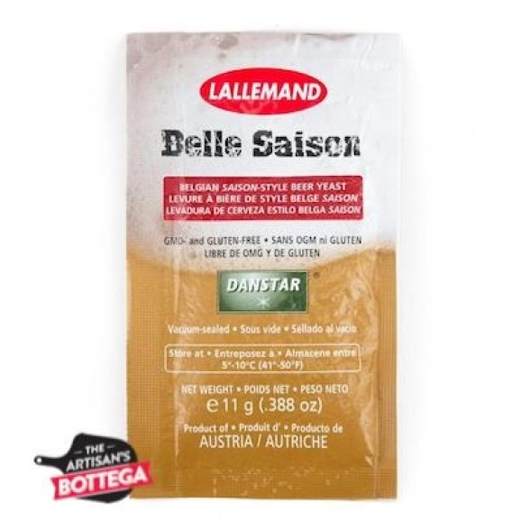 Lallemand Beer Yeast 11g - Belgian Belle Saison Style Ale Sachet