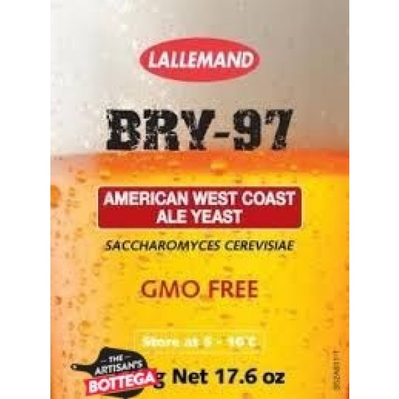 Lallemand Beer Yeast 11g - BRY -97 American West Coast Style Ale Sachet