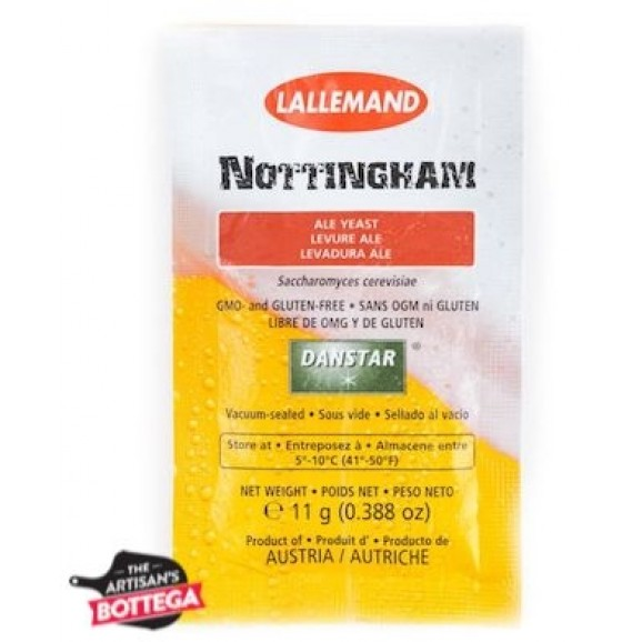 Lallemand Yeast 11g - Nottingham Nuetral Style