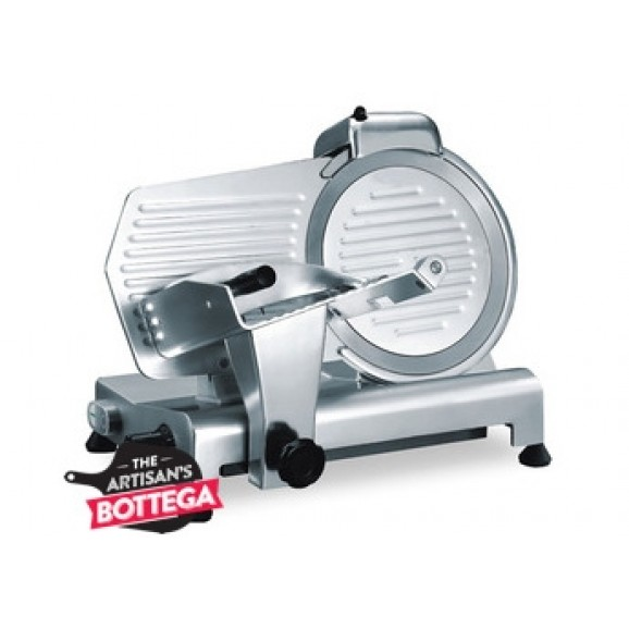 Linkrich Meat Slicer Diameter 250mm with Sharpener Alloy Body