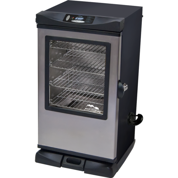 Electric Smoking Oven 102cm Tall Complete with Clear and Std Door. 240V - MASTERBUILT