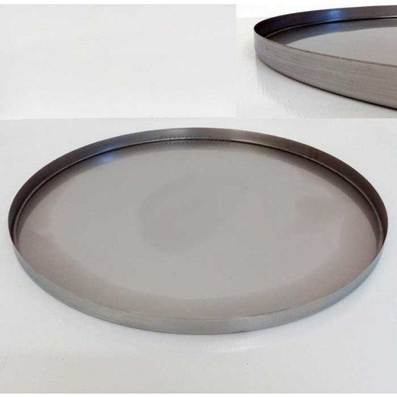 Stainless Steel Tank Lid - Oil System
