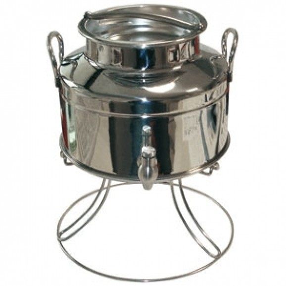 Olive Oil Tank Screw Top Lid with Tap and Stand