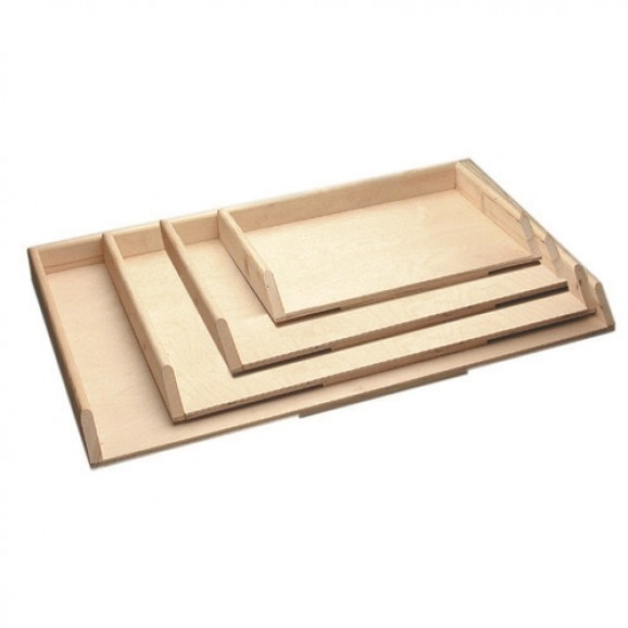 Wooden Pasta Board with Side Rails