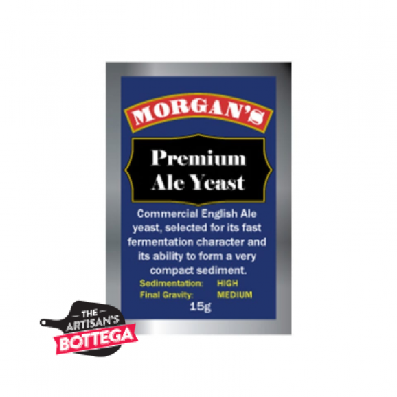 Premium Ale yeast for fast fermentation