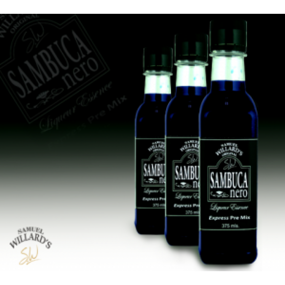 Samuel Willards Liqueur Express Premix Black Sambuca 375ml