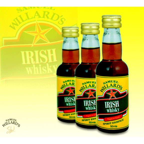 Samuel Willards Gold Star Essence Irish Whisky 50ml