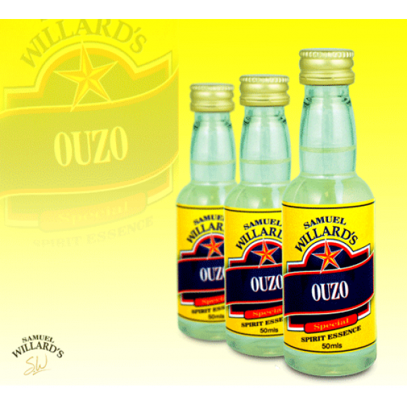 Samuel Willards Gold Star Essence Ouzo 50ml
