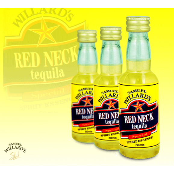 Samuel Willards Gold Star Essence Red Neck Tequila 50ml