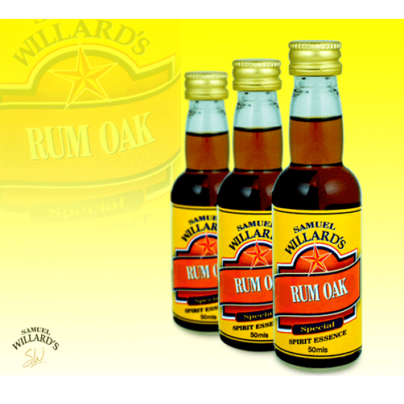 Samuel Willards Gold Star Essence Rum Oak 50ml