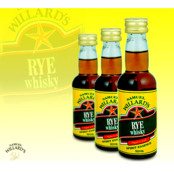 Samuel Willards Gold Star Essence Rye Whisky 50ml